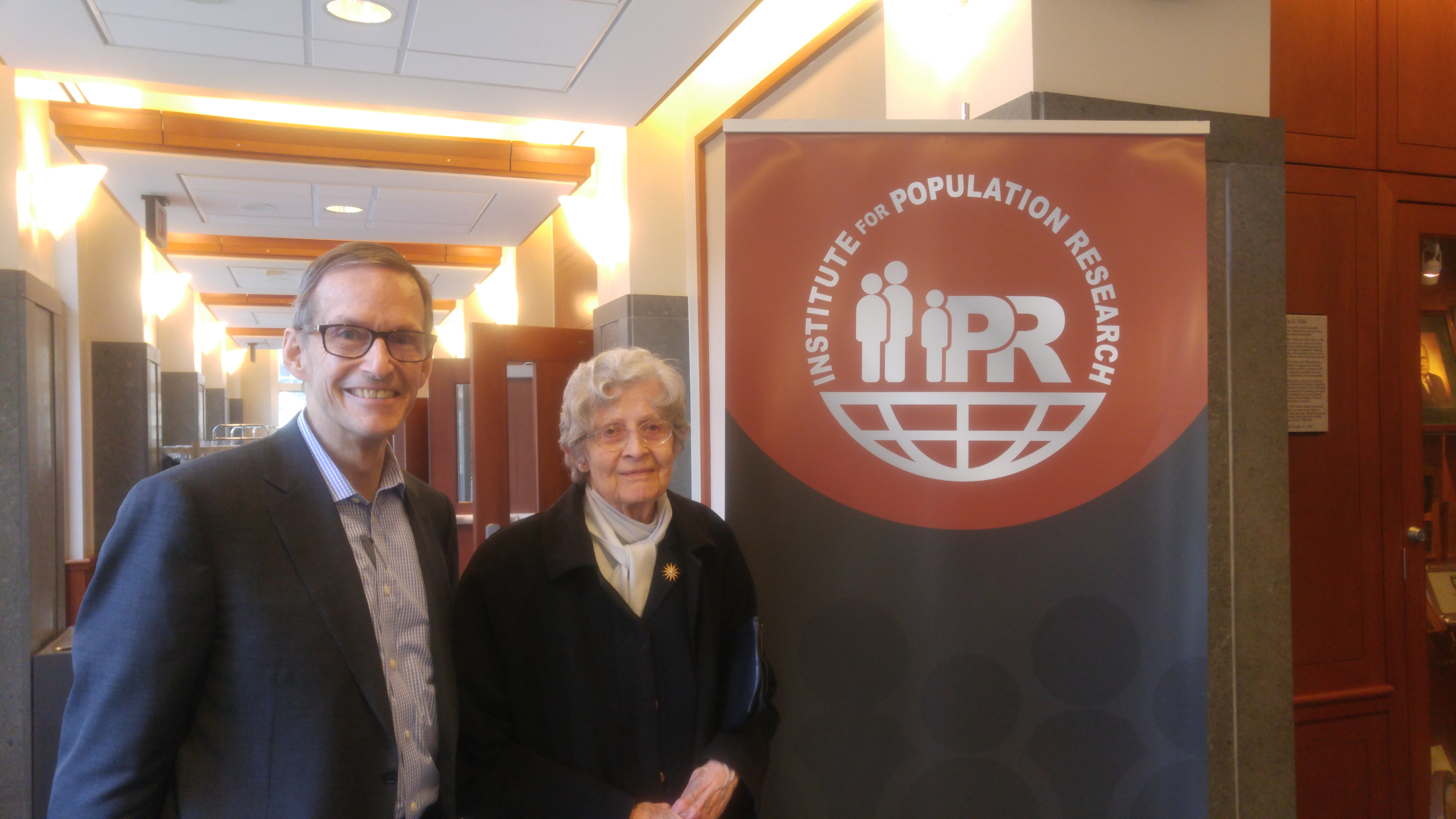 Photo of Drs. Joan Huber and Joe Potter